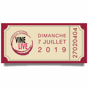 billets VINELiVE 2019 Summer