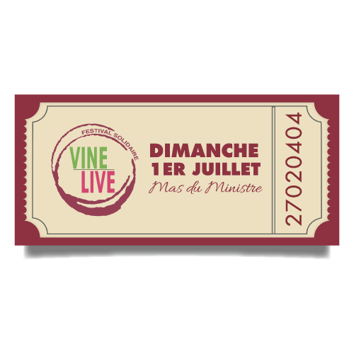 Ticket Vinelive 2018